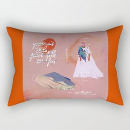 portrait of a lady on fire iii Rectangular Pillow