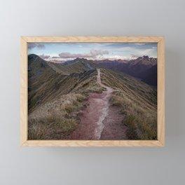 Kepler Track, Fiordland Framed Mini Art Print