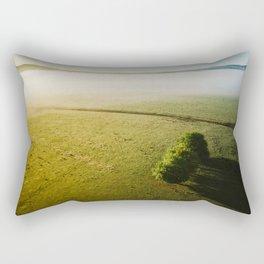 Yarra Valley Melbourne Printable Wall Art | Australia Landscape Aerial Travel Photography Print Rectangular Pillow