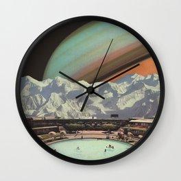 Saturn Spa Wall Clock