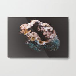 Mineral One Metal Print