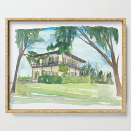 Key West Florida Conch Dreams - Hemingway House Serving Tray