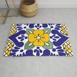 Talavera Gold Mosaic Rug
