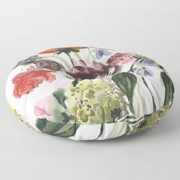Spring Juicy Arrangement Floor Pillow