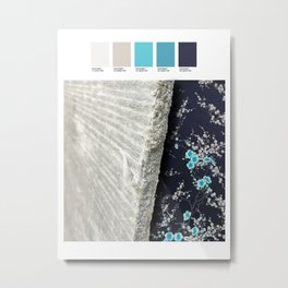 Today's color chart day 31 Metal Print