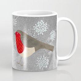 Robin and Snowflakes Coffee Mug