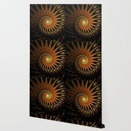 Dark Shell Fractal Wallpaper