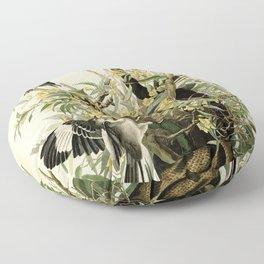 Mockingbirds and Rattlesnake Floor Pillow