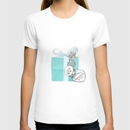 Blue Jewellry Box T-shirt