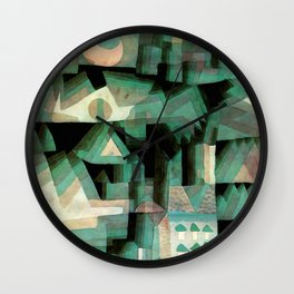 "Paul Klee ""Dream city"" Wall Clock"