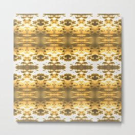 GoldBlossom Metal Print