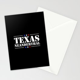 TEXAS NEANDERTHAL Stationery Cards