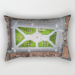 Plaza de armas in Cusco Peru Rectangular Pillow