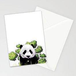 wild panda Stationery Cards