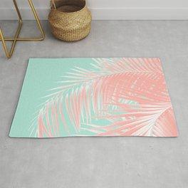 Palm Leaves Summer Vibes #9 #tropical #decor #art #society6 Rug