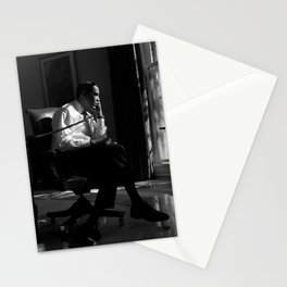President Obama In Oval Office - 2009 Stationery Cards