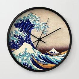 The Great Wave Off Kanagawa Wall Clock