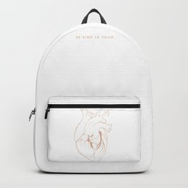 Be Kind To Your Heart Backpack