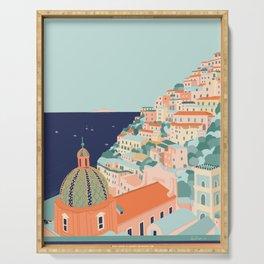 Amalfi coast, Positano, Italy Serving Tray
