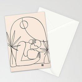 Dreamers no.4 (peach) Stationery Cards