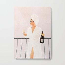 Morning Wine II Metal Print