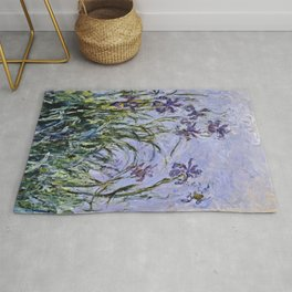 Claude Monet - Iris Jaune Rug