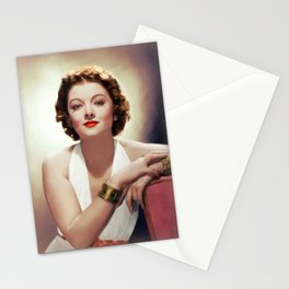 Myrna Loy, Actress Stationery Cards
