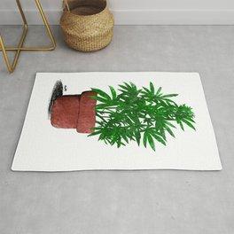 Weed Plant Marijuana Cannabis Rug
