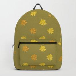 Tropical Print Pattern Backpack