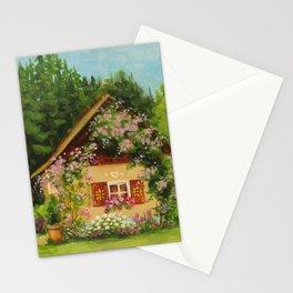 Tiny Cottage House Stationery Cards