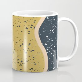 Making Marks Textured Curves Coffee Mug