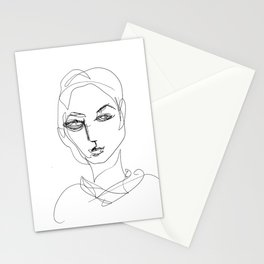 He knew he would be a beautiful woman. Stationery Cards
