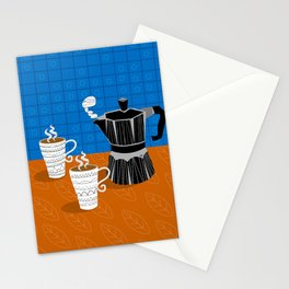 Pumpkin Spice Coffee for Two Stationery Cards