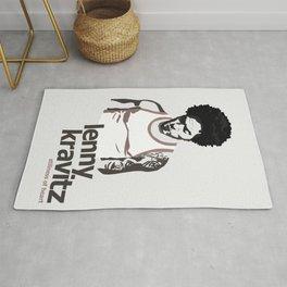 Lenny Kravitz - Portrait II Rug