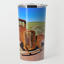 Relic of Historic Route 66 in Arizona Travel Mug