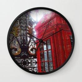 Hello London Wall Clock