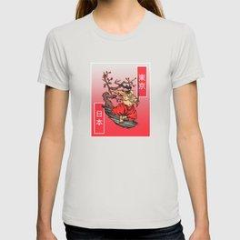 Big Belly Japanese Samurai T-shirt
