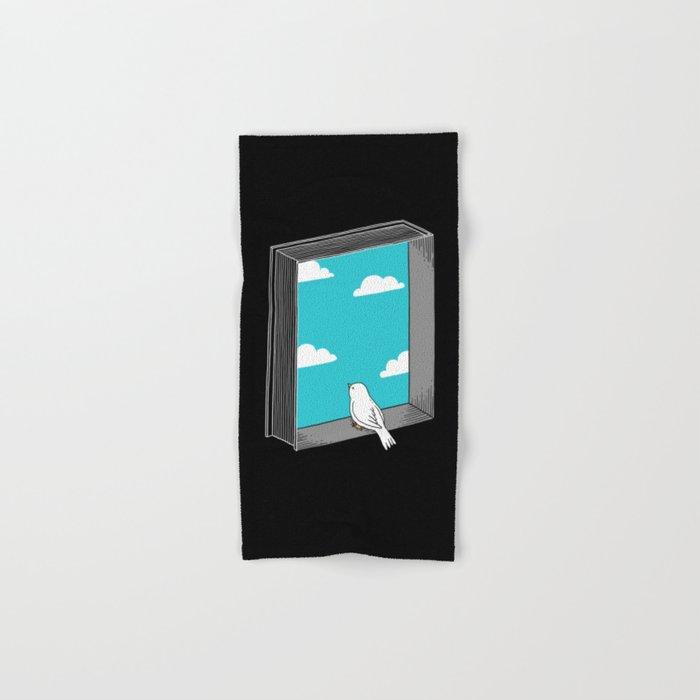 Every book a window Hand & Bath Towel