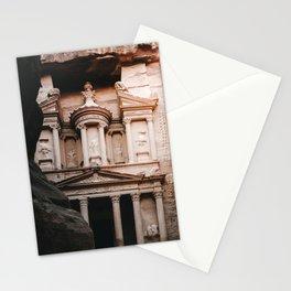 The Treasury (Al Khazneh) Photo | Jordan Petra Travel Photography | Treasury In Petra  Stationery Cards