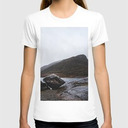 Misty Irish lake T-shirt