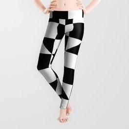 CHECKBOARD (BLACK-WHITE) Leggings