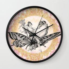 Vintage Fairy Queen Wall Clock