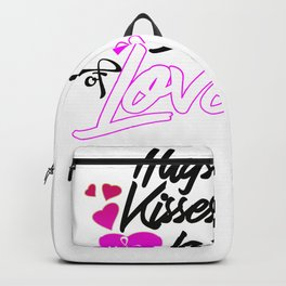 Funny Quote Valentines Day Design Backpack