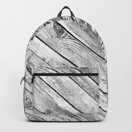 Vintage wood pattern Backpack