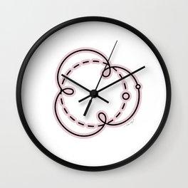 Mercury Retrograde Wall Clock