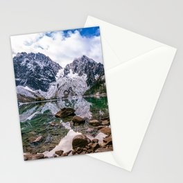 Colchuck Lake Mountain Hiking Adventure Stationery Cards