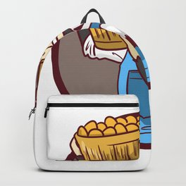Farmer Peasant Grower Gift Farm Funny countrymen Backpack