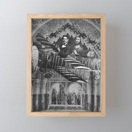 El Vuelo de Federico García Lorca con la ayuda de Dios Framed Mini Art Print