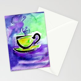 Coffee Dreams 13b by Kathy Morton Stanion Stationery Cards