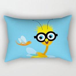 Monster Friends – Illustration for children, Kids art Rectangular Pillow